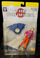 Wild Storm Planetary THE DRUMMER DC Direct - Action Figure Sealed On Card